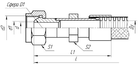 Г77. МРВД с арматурой «Резьбовое соединение под приварку с плоским уплотнением»