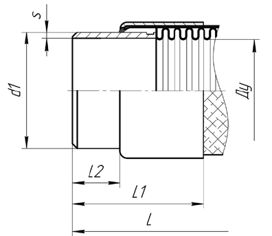 A02.Исполнение МРВД из нержавеющей стали с укороченной концевой арматурой под приварку