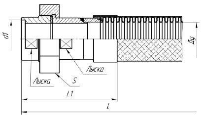 К80. МРВД с арматурой «Соединение с адаптером с внутренней резьбой и коническим уплотнением»