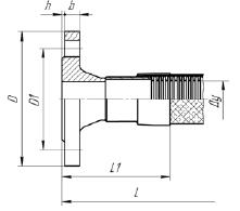МРВД с арматурой Фланец приварной встык (воротниковый)