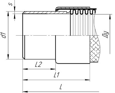 A01.Стандартное исполнение МРВД из нержавеющей стали с концевой арматурой под приварку